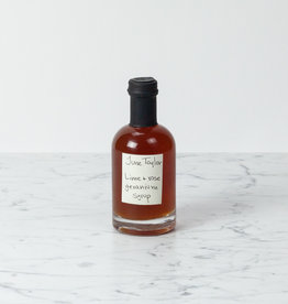 June Taylor Co. June Taylor Lime + Rose Geranium Syrup - 200ml