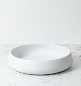 "Skagerak Danish Nordic Oven Safe Porcelain Shallow Bowl - 12.5"""