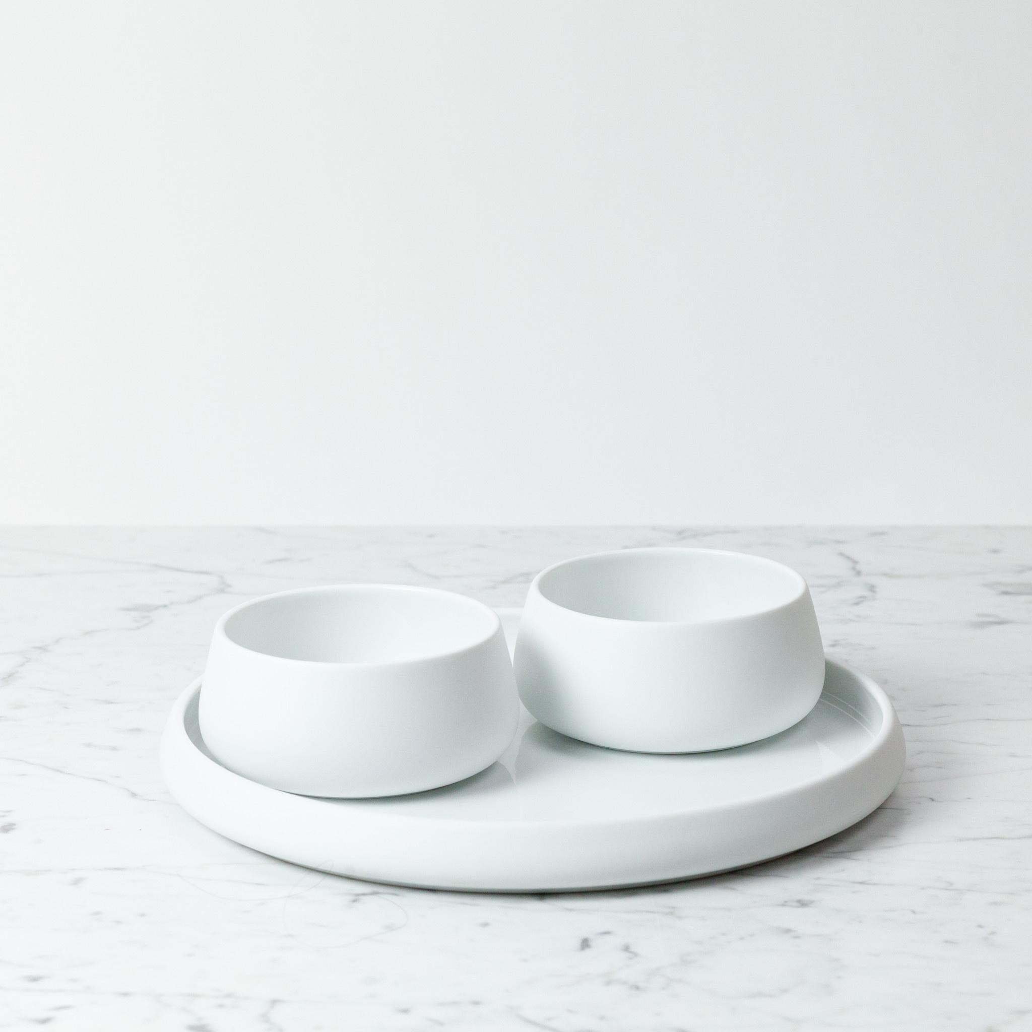 "Skagerak Nordic Porcelain Serving Plate - 12"""