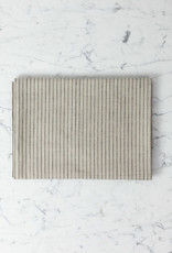 Lithuanian Linen Tablecloth - Small - Stanley Stripe - 50 x 50""