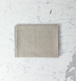 """Lithuanian Linen Tablecloth - Small - Stanley Stripe - 50 x 50"""""""
