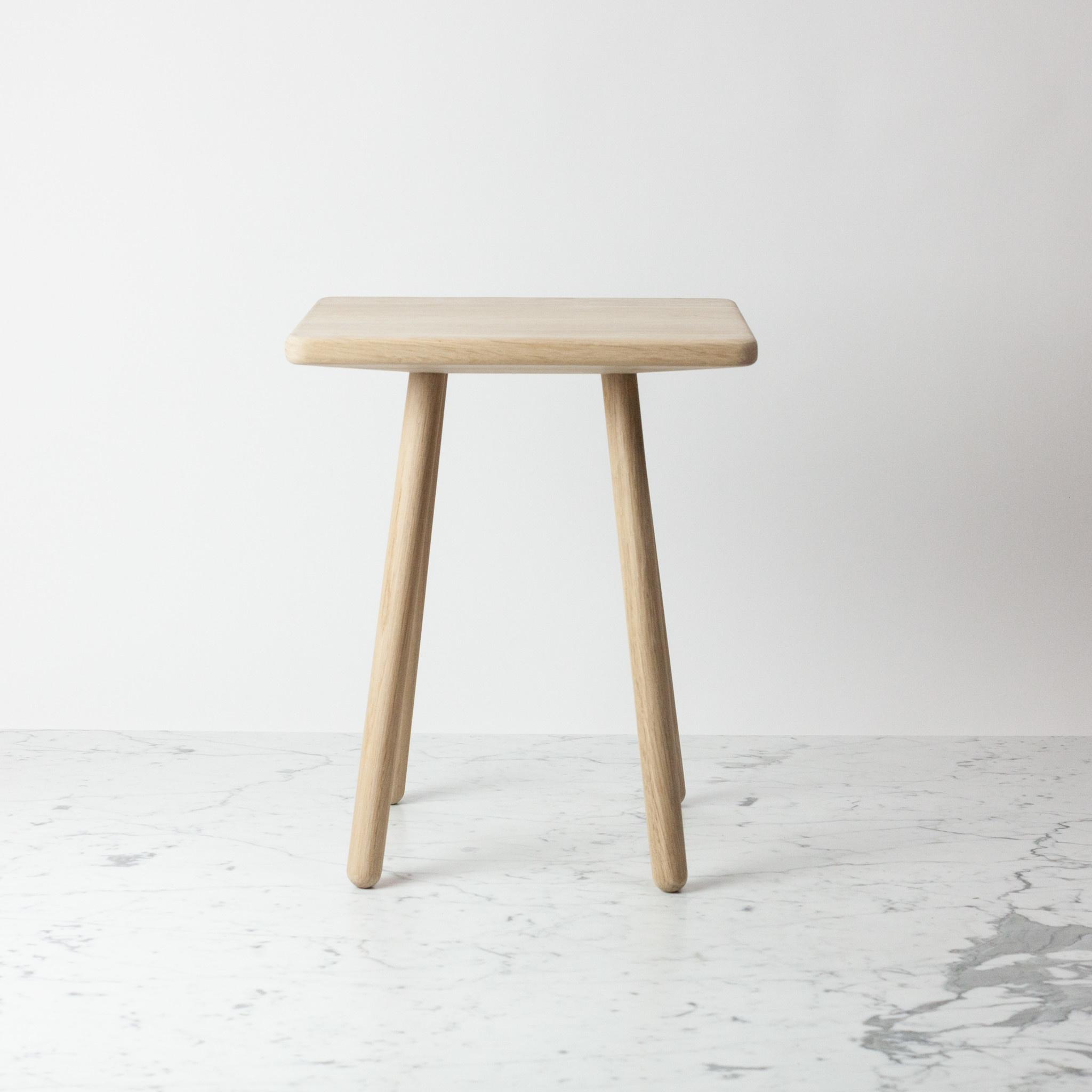 "Skagerak Georg Side Table - Untreated Oak - 17 x 14 x 12.5"""