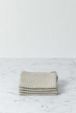 Linen Waffle Washcloth - Natural