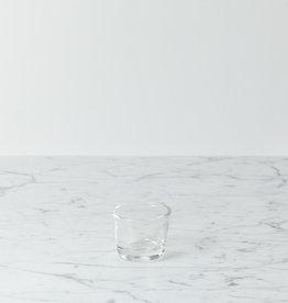 Henry Dean Belgian Flare Tea Light Holder - Clear Glass
