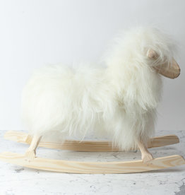 Povl Kjer Povl Kjer Rocking Sheep - Long White Wool