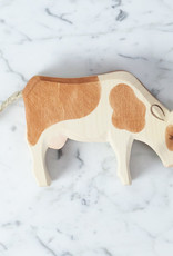 Ostheimer Toys Big Guernsey Cow Eating