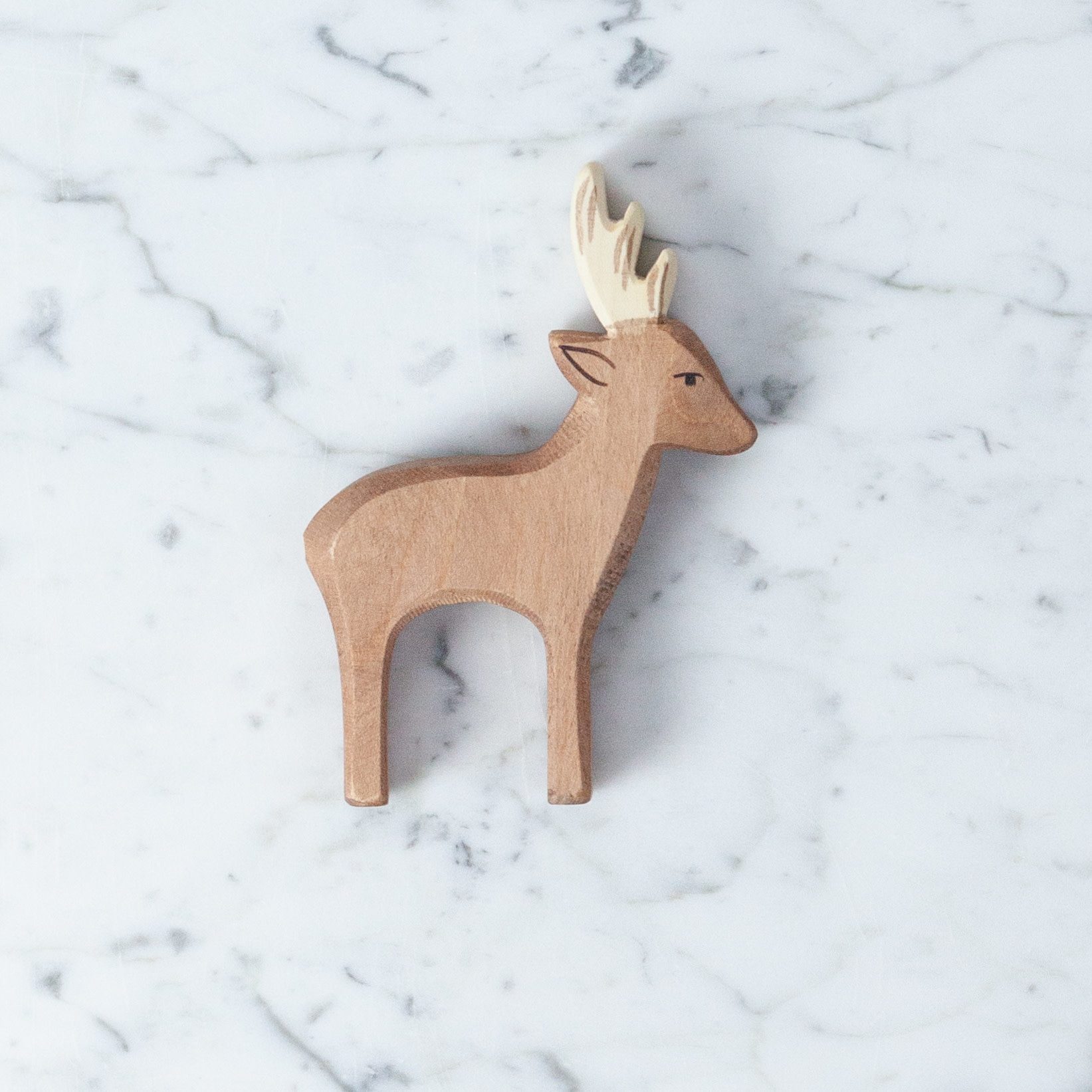 Ostheimer Toys Small Roebuck Deer with Antlers