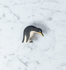 Ostheimer Toys Curious Penguin Leaning Down