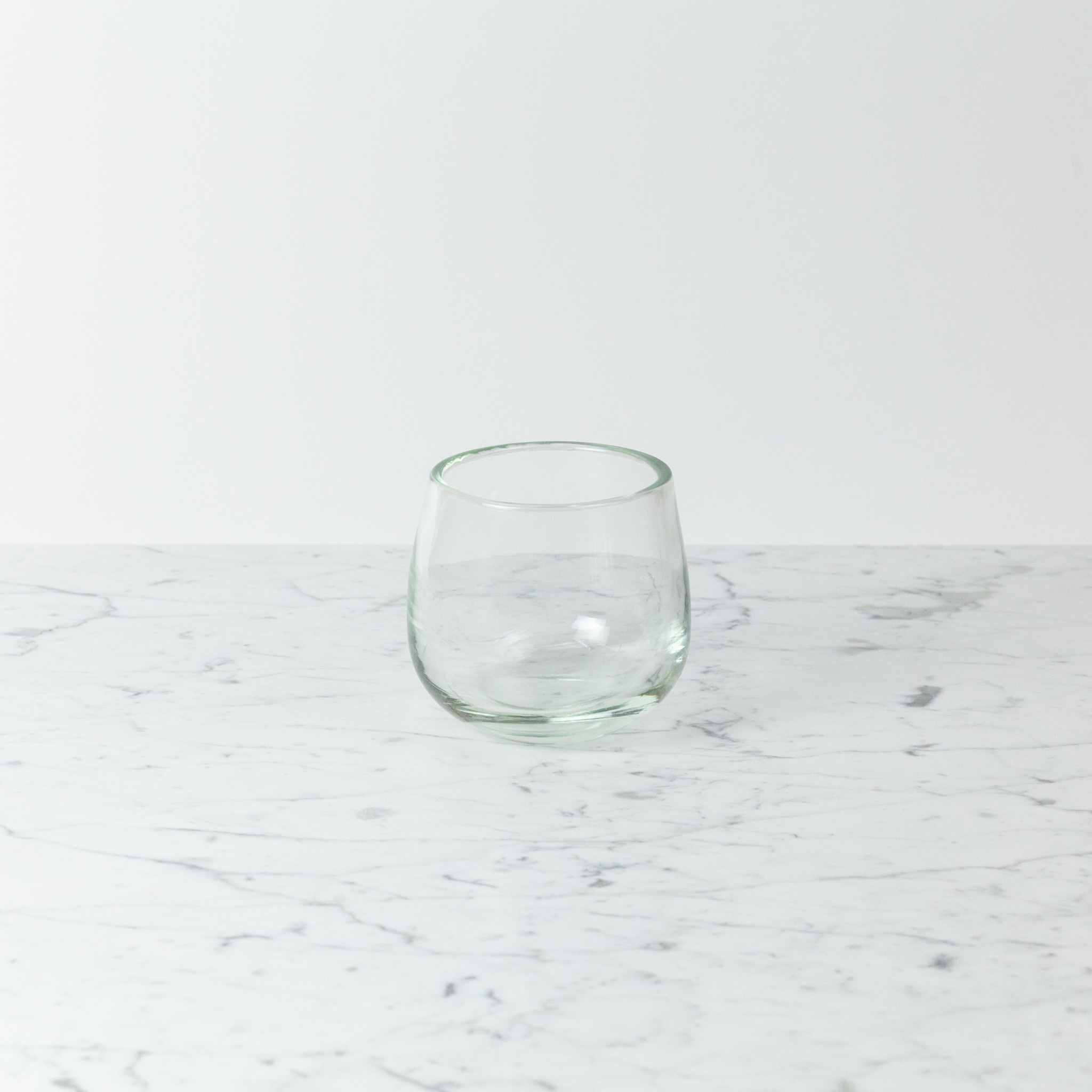 """Henry Dean Extra Small Clovis Vessel - Clear - 4 3/4"""""""