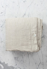 Linen Duvet Cover - King - Natural - 108 x 96""