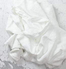 Cultiver Linen Duvet Cover - Queen - White