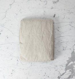 Linen Fitted Sheet - King - Natural