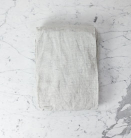 Cultiver Linen Fitted Sheet - King - Pinstripe