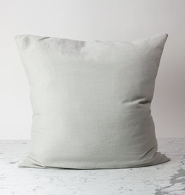 """Cultiver Smoke Grey - 26"""" - Linen Dec Pillow with Down Insert"""