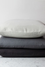 """Cultiver Charcoal Grey - 26"""" - Linen Dec Pillow with Down Insert"""