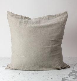 "Cultiver Natural - 26"" - Linen Dec Pillow with Down Insert"