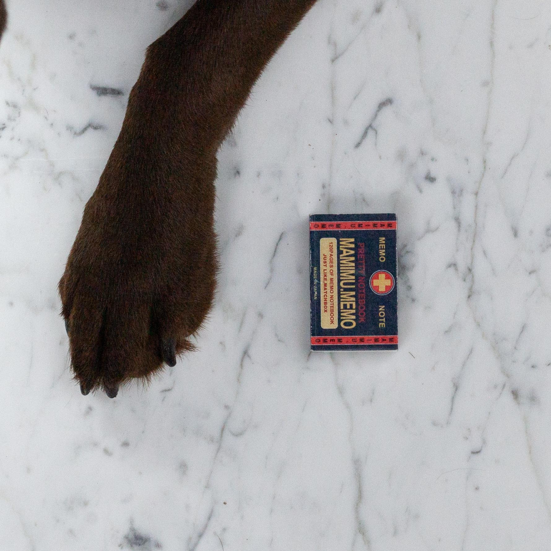 Teeny Tiny Matchbox Notebook - Red Cross