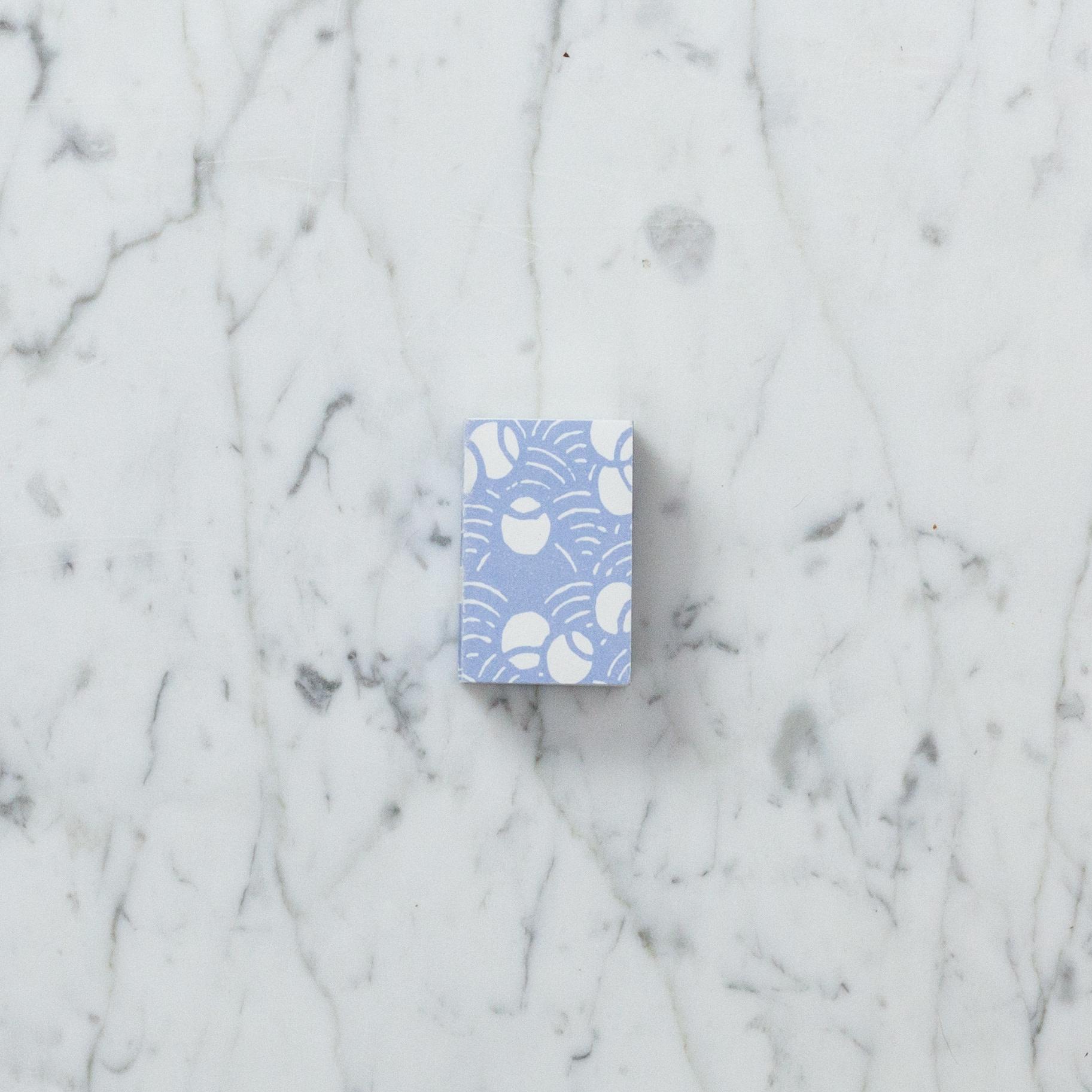 Teeny Tiny Matchbox Notebook - Blue Bugs