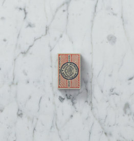 Teeny Tiny Matchbox Notebook - Red Rays