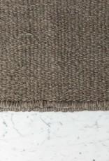 Handwoven Tawe Rug - Merino Wool - Warm Grey- Small - 4 x 6'