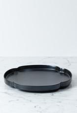 MIZU MIZU mizu-mizu Shallow Plate - Iron Black Glaze