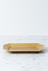 "MIZU MIZU mizu-mizu Long Porcelain Dish - Light Brown - 5.5 x 9.5"""