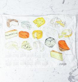 2020 Fabric Calendar - Cheese