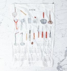 2020 Fabric Calendar - Cuisine