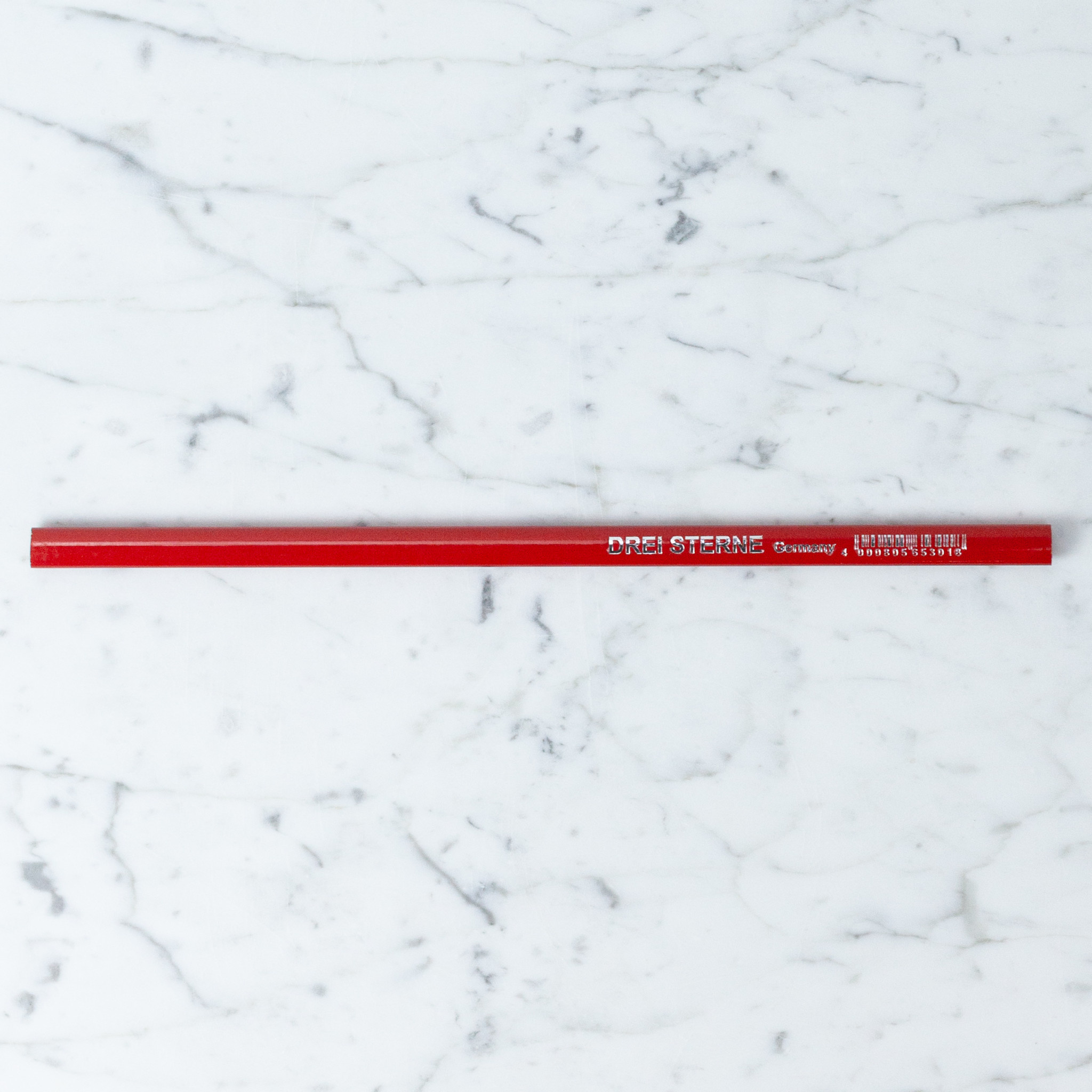 Giant German Carpenters Pencil - Red