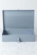 Italian Steel Locker Case - Small - Grey
