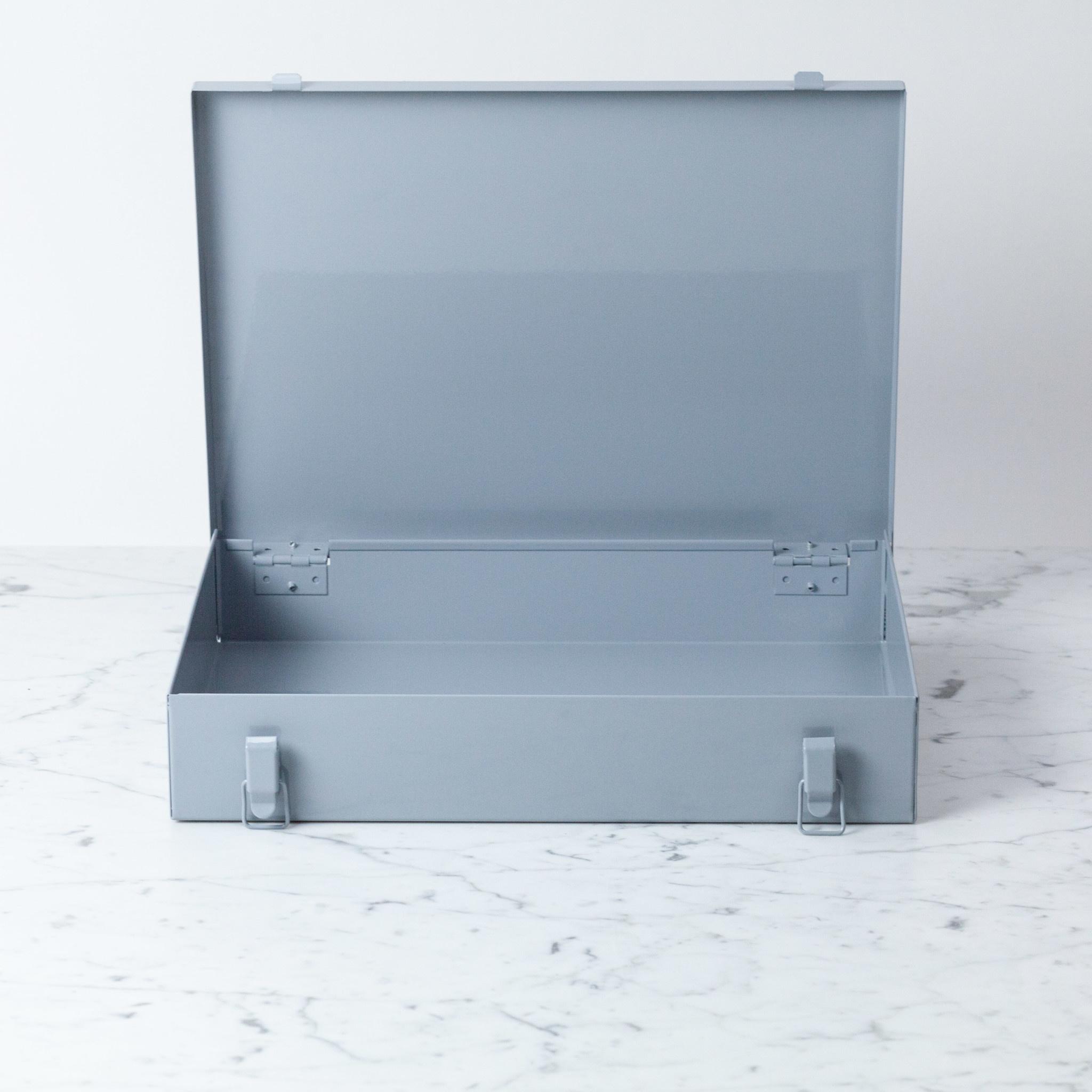 Italian Steel Locker Case - Large - Grey