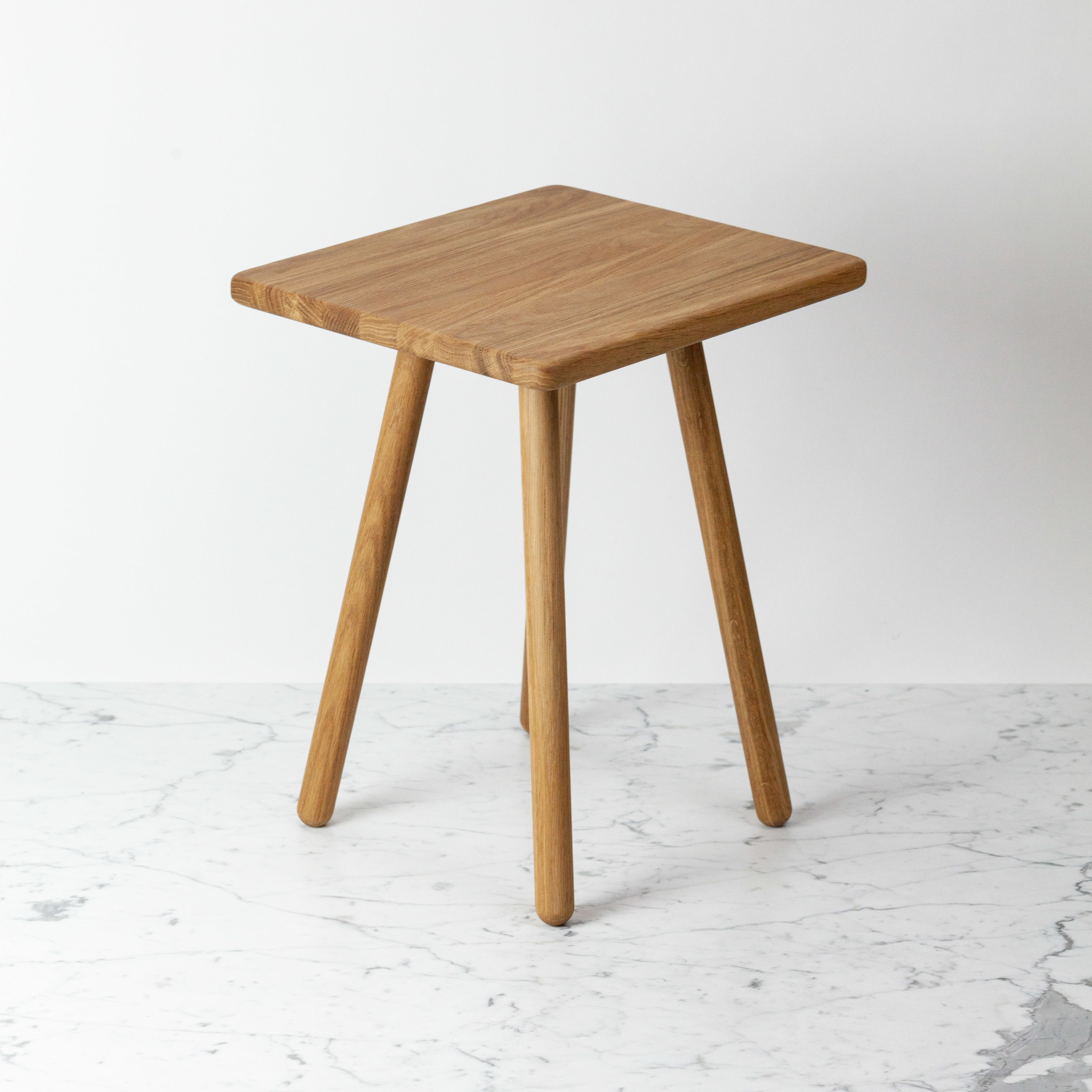 Skagerak Georg Side Table - Oiled Oak - 17 x 14 x 12.5""