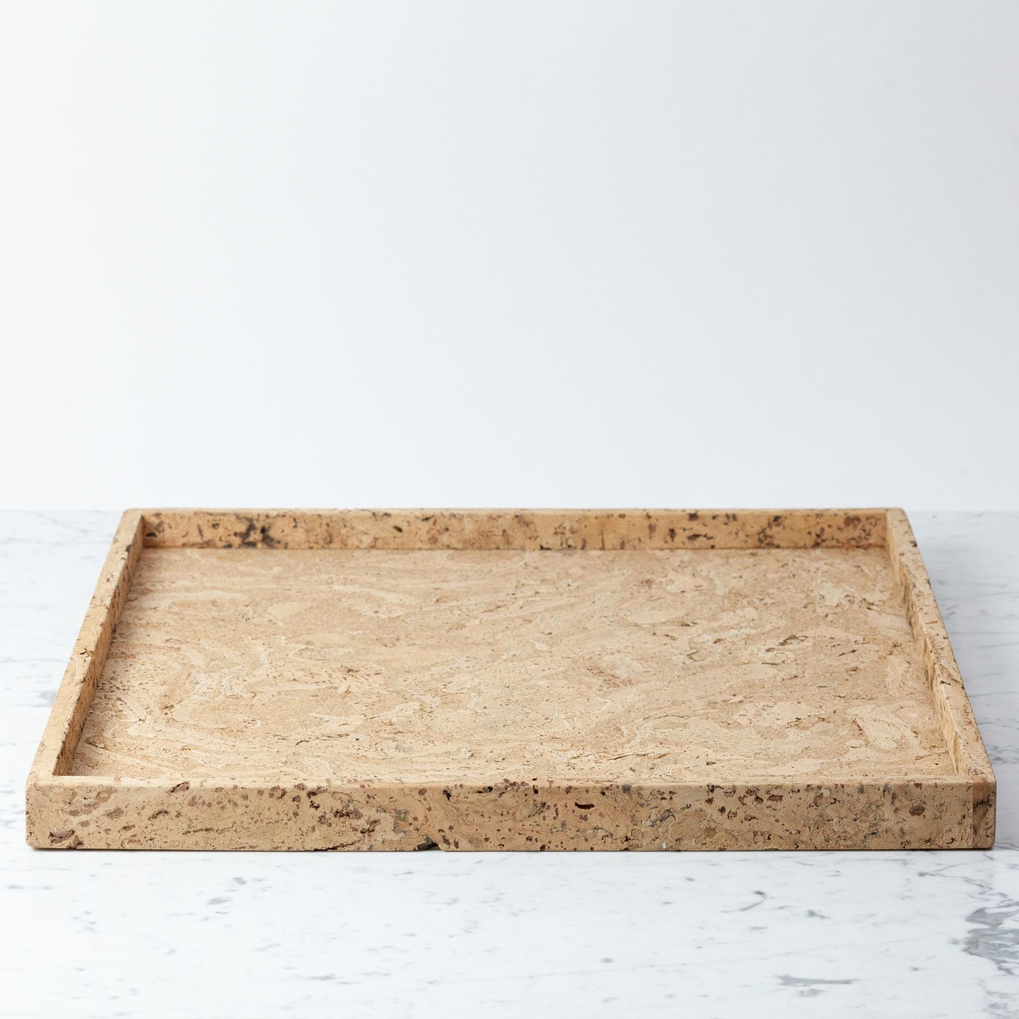 "Cork Ottomon Tray- Xtra Large 22.5"""