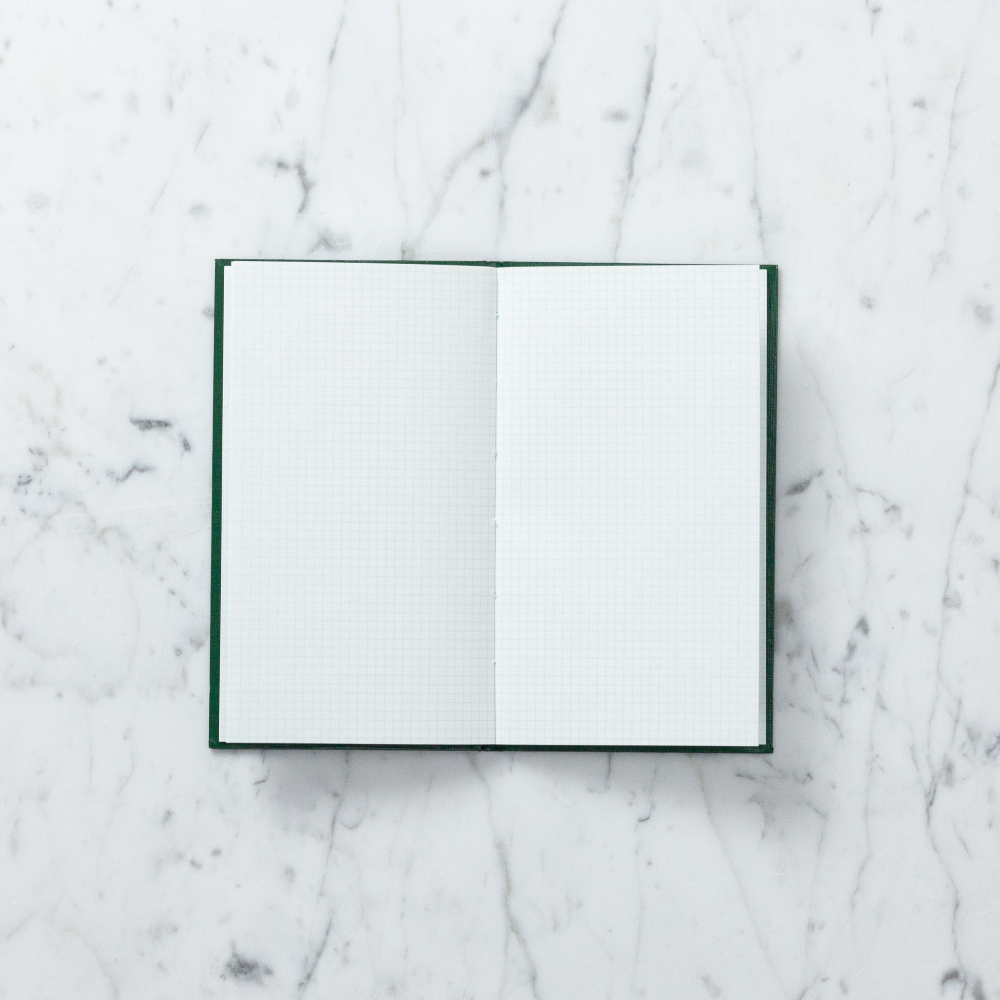 Hardcover Surveying Field Sketch Book - Grid - Green