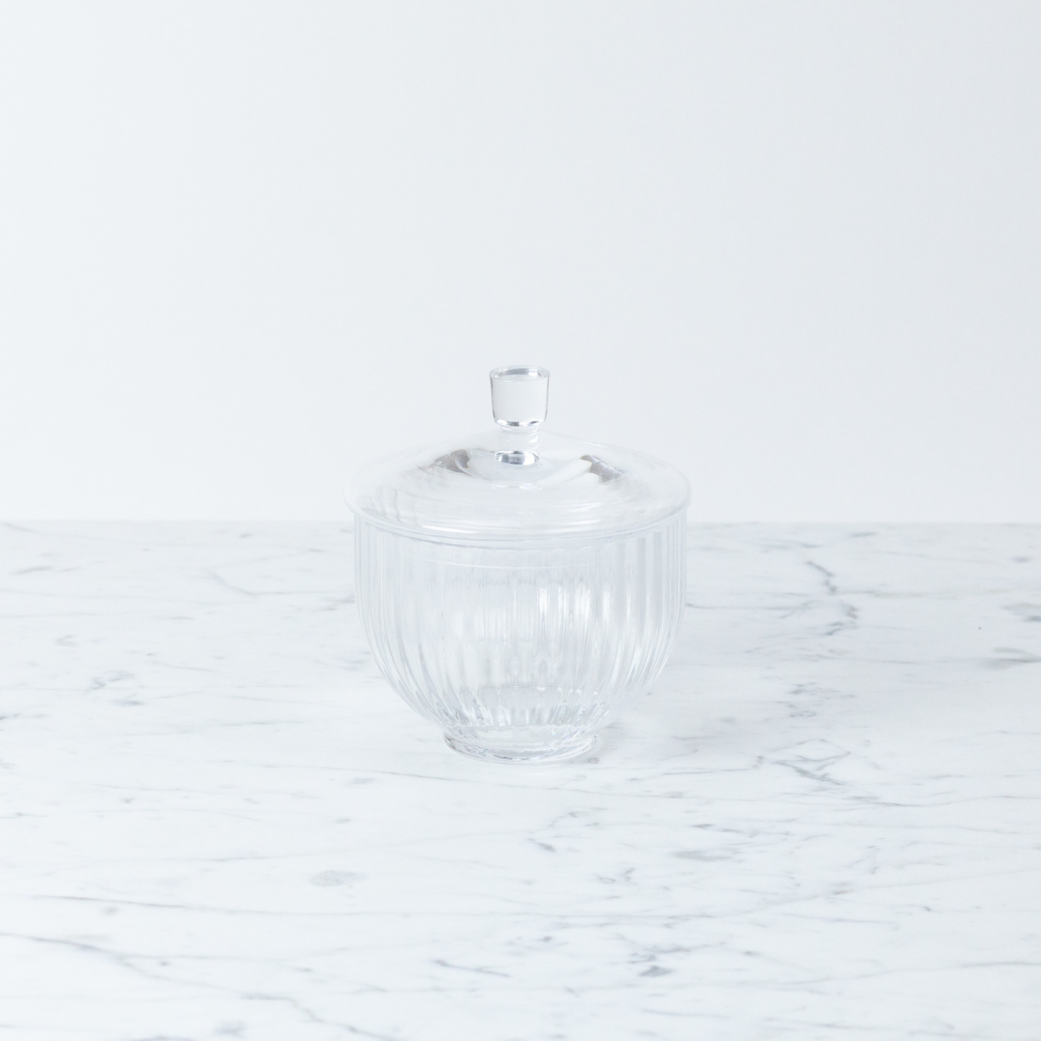 Lyngby Porcelain Lyngby Bonbonniere - 10 cm - Clear Glass