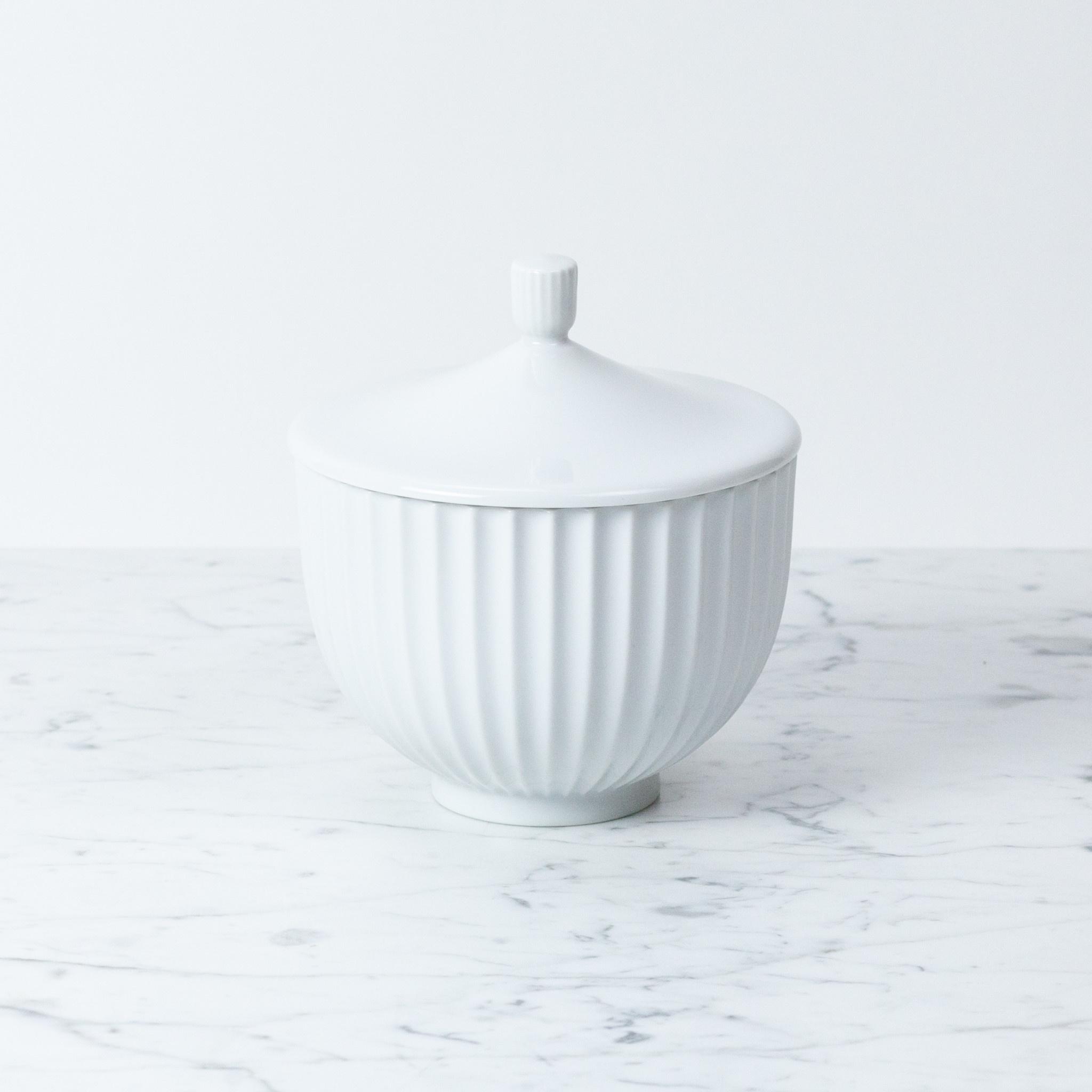 Lyngby Porcelain Lyngby Bonbonniere - 14 cm - White Porcelain