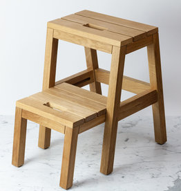 Skagerak Oiled Oak Danish Dania Two Step Sliding Stool