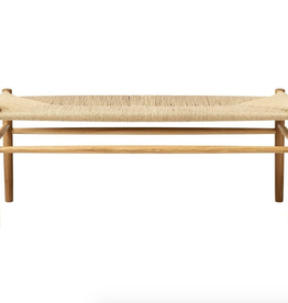 FDB Mobler FDB Mobler Low Bench - Natural Oak
