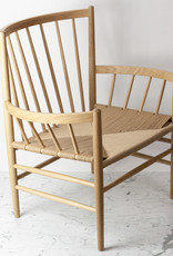 FDB Mobler FDB Mobler Lounge Chair - Natural Oak
