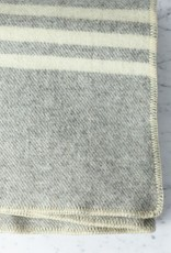 """MacAusland MacAusland Wool Queen Size Blanket - Dark Grey Tweed - 78 x 104"""""""