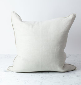 Libeco Home Belgian Linen Napoli Pillow with Down Insert - Natural - 25 x 25""