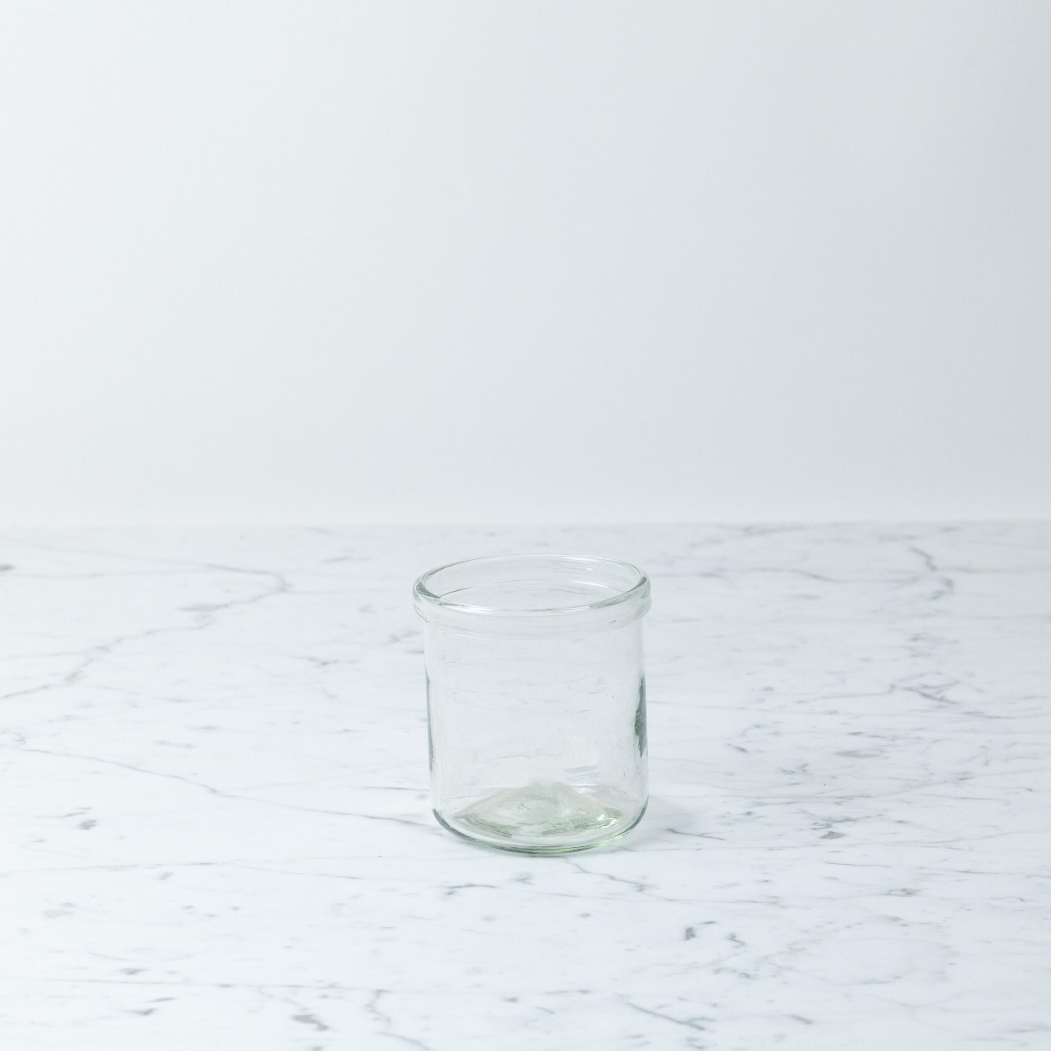 "La Soufflerie Hand Blown Pot A Cornichon Glass Jar - Small - 4 x 3.25"""