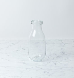 La Soufflerie Hand Blown Glass Milk Bottle