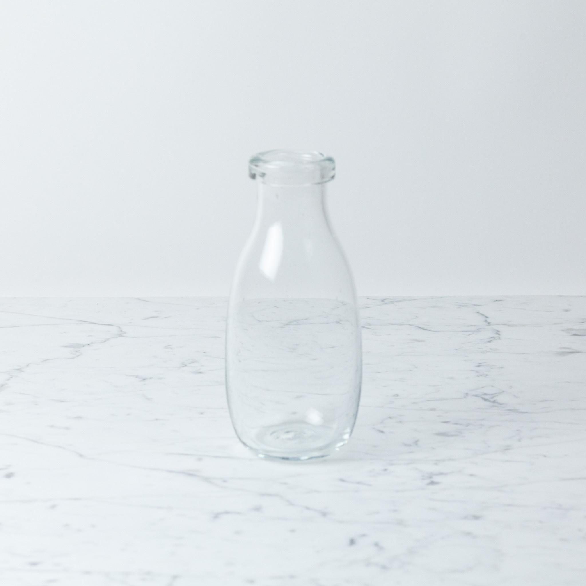 La Soufflerie Hand Blown Glass Milk Bottle
