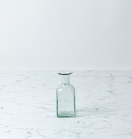 La Soufflerie Hand Blown Bagno Rectangulaire - Glass Bottle