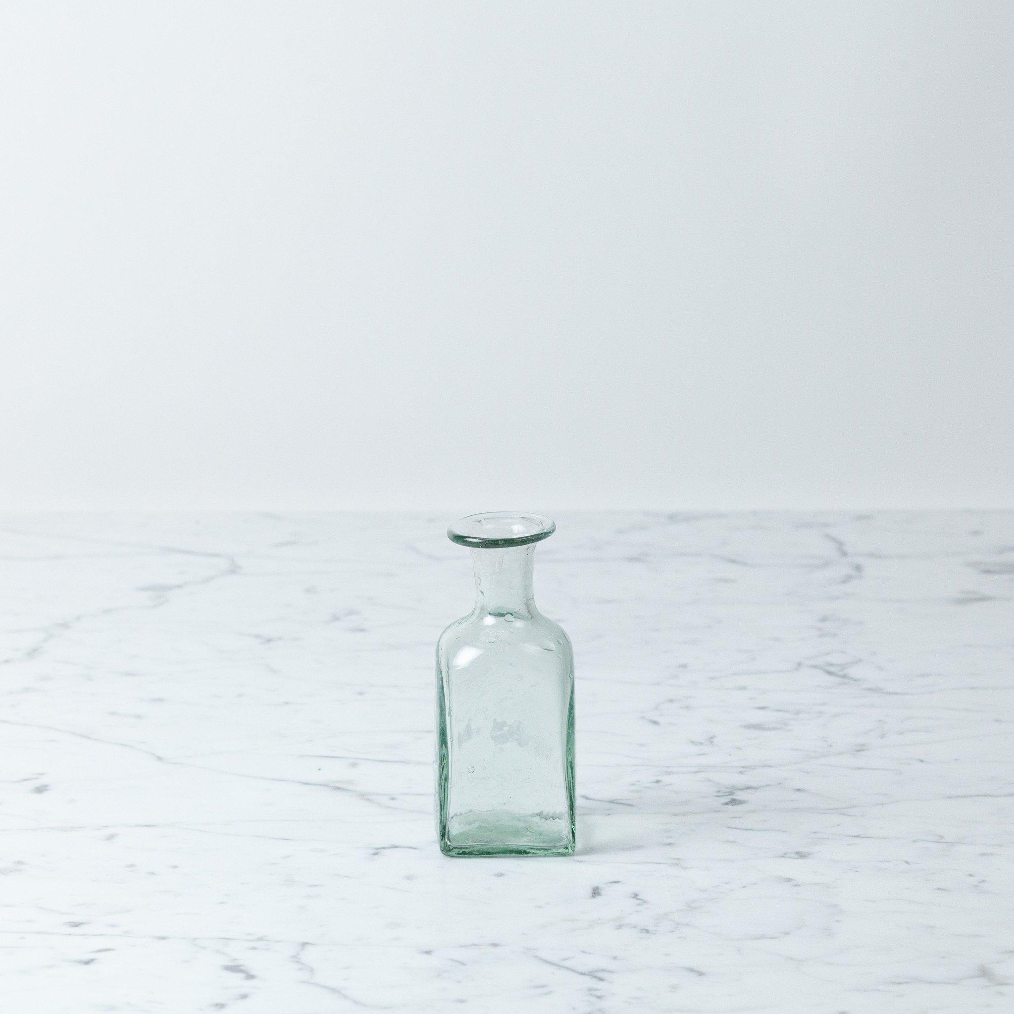 La Soufflerie Hand Blown Bagno Rectangulaire - Glass Bottle Vase