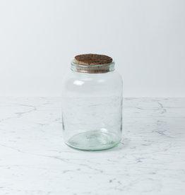 La Soufflerie Hand Blown Barattolo Storage Glass with Cork Top