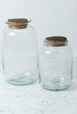 La Soufflerie Hand Blown Barattolo Storage Glass with Cork Top