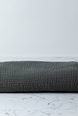Cats and Boys Gauze Cotton Swaddle - Charcoal