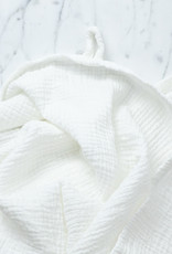 Cats and Boys Gauze Cotton Swaddle - Off White Vanilla